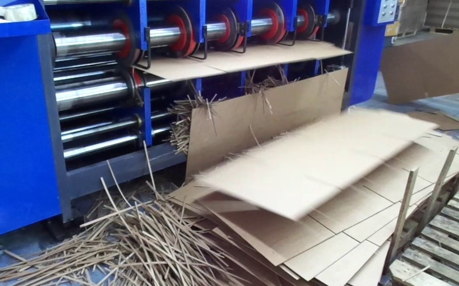 Линия для изготовления картона