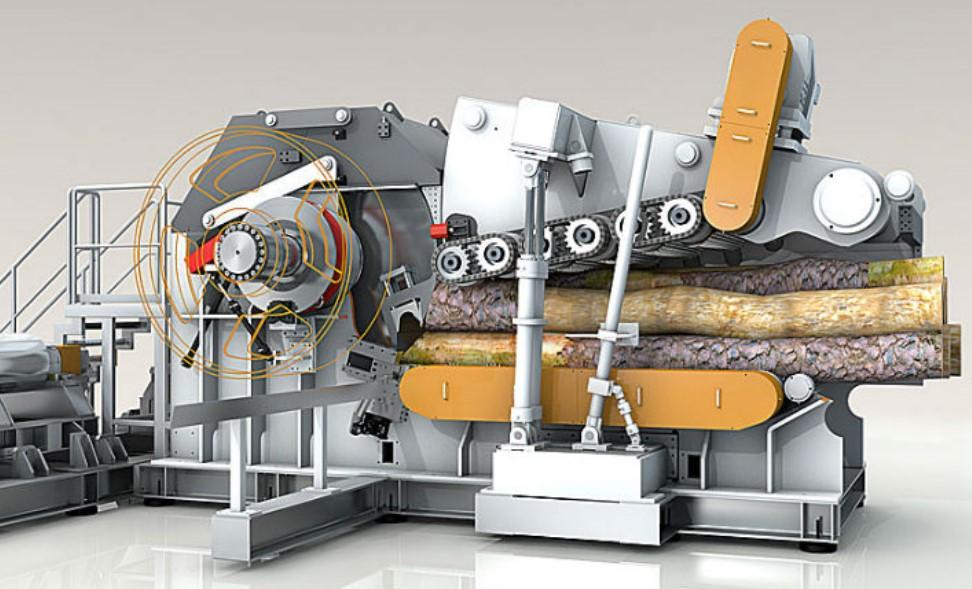 Рубительная машина для производства щепы