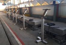 Весы платформенные электронные из нержавеющей стали ВП-П 500 кг