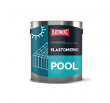 ELASTOMERIC – POOL (3кг белый) Финишное однокомпонентное покрытие для  гидроизоляции бассейнов, резервуаров, фонтанов.