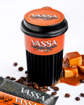 Кофе VASSA Карамель в эко-стакане 250мл
