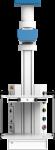 Потолочная одноплечевая медицинская консоль CADUCEUS C1E-V