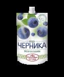 """Черника протертая с сахаром """"Сибирская ягода"""""""
