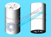 Пластиковая вертикальная емкость 15000 литров