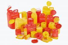 Емкости контейнеры и канистры одноразовые с иглосъемниками
