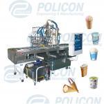 Фасовочный автомат мороженого четырехпоточный