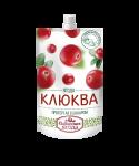 """Клюква протертая с сахаром """"Сибирская ягода"""""""