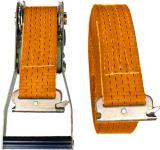 Ремень стяжной с рельсовыми концевиками ласточкин хвост
