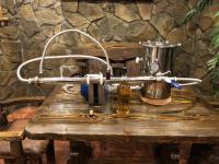 Мини установка ультрафильтрационной очистки (обеспложивания) соков и алкоголя Pozitron-1 (Food 100-20-КУФЭ-19 (0,01)