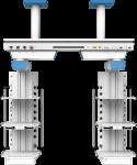 Мостовая медицинская консоль CADUCEUS CB