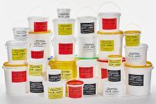 Емкости-контейнеры (ведра) одноразовые и многоразовые для сбора медицинских отходов.
