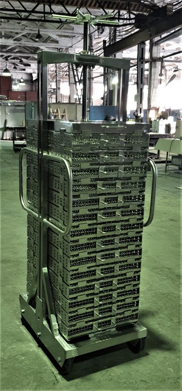 Пресс-рама кассетного типа однорядная с одним зажимным винтом