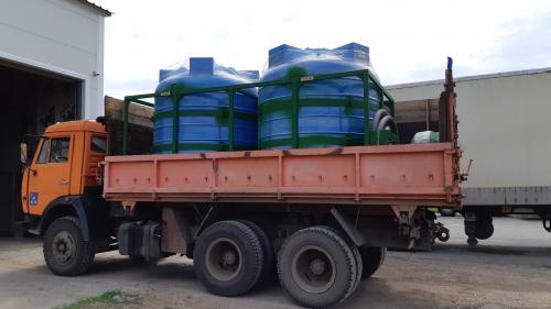 Емкости для КАС (перевозка, хранения) в усиленном каркасе.