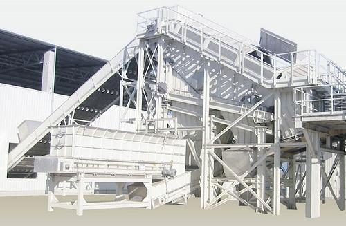 Автоматический сортировочный комплекс на 350 000 тонн в год