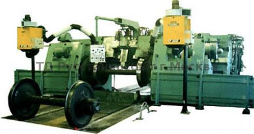 Станок колесотокарный проходной мод. РТ905Ф1, РТ905Ф3