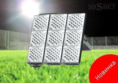 Высокомощный прожектор SDSBET-FLASH-LED-540-750-9-30-7016-0