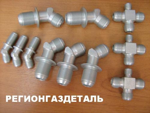 Соединения трубопроводов по наружному конусу