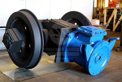 Инновационный шахтный электровоз