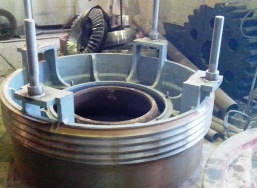 Кольцо регулирующее на конусные дробилки  КМД-1200 Гр чертёж 1-124588-02