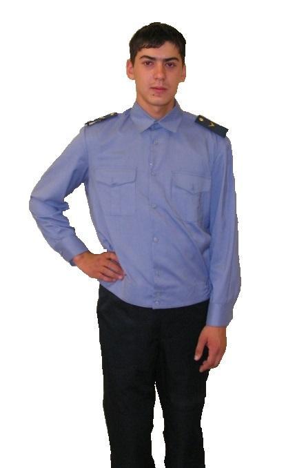Мужская сорочка для сотрудников МВД, РЖД