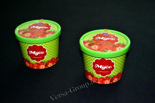 Бумажные креманки для мороженого