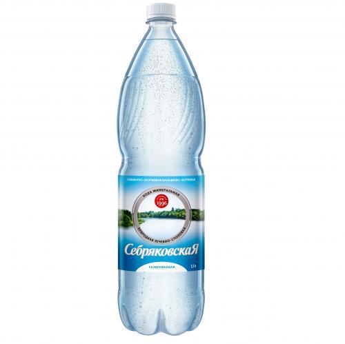 Минеральная газированная вода «Себряковская»