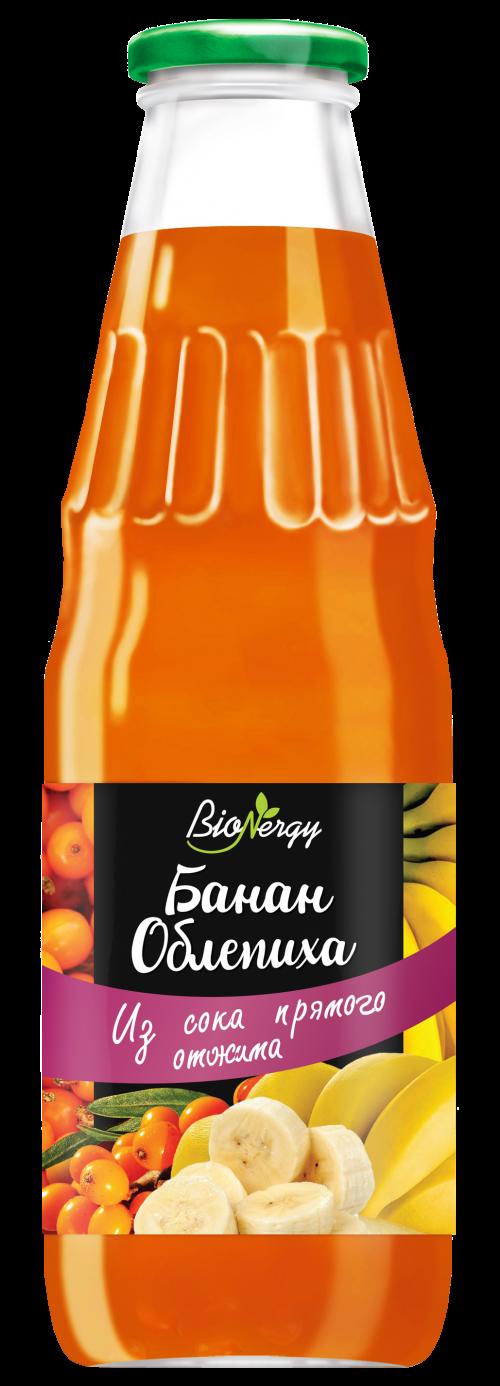 """Бананово- облепиховый нектар """"BioNergy"""""""