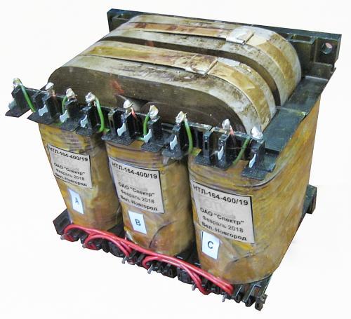 Трехфазный трансформатор НТЛ-164- (400 Вт)