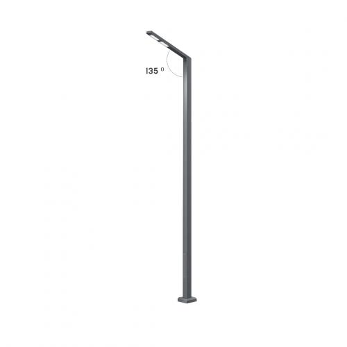 Однорожковая уличная опора освещения Pillar Single (комплект)