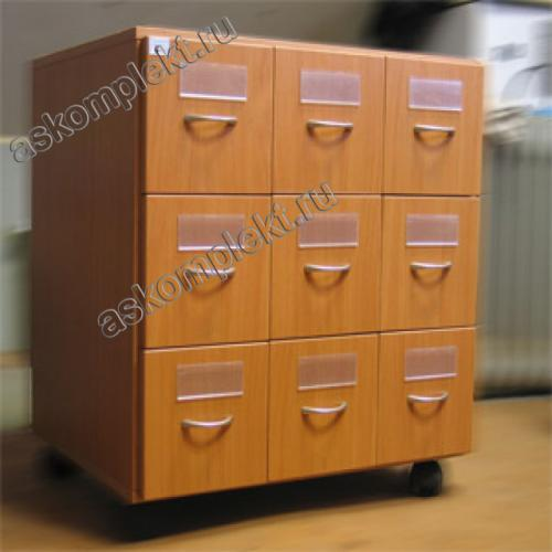 Картотечный/формулярный шкаф
