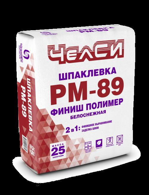 Шпаклёвка финишная полимерная белая ЧелСи PM-89