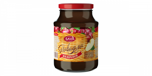 "Яблочное повидло ""SAVA"""
