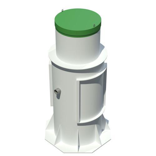 Современная автономная канализация Тополь 6 Плюс на 6 человек