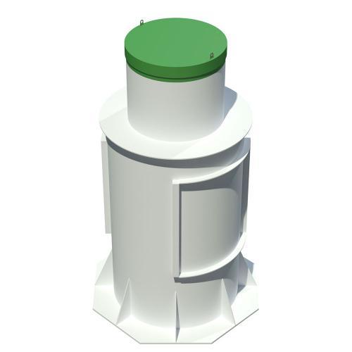 Энергозависимый септик Тополь 9 ПР Плюс на 9 человек