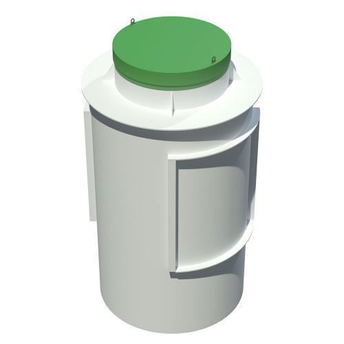 Современный септик Тополь 9 ПР для коттеджей на 9 человек