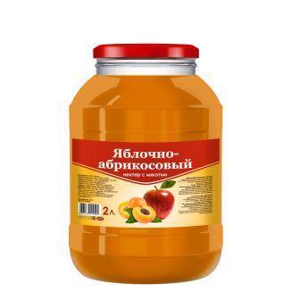 "Яблочно-абрикосовый нектар ""SAVA"""