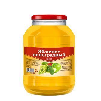 "Яблочно-виноградный нектар ""SAVA"""
