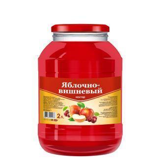 "Яблочно-вишневый нектар ""SAVA"""