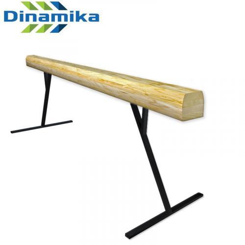 Бревно гимнастическое 3 м (на высоких опорах металл)