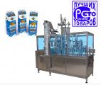 Автомат для фасовки и герметичной упаковки жидких, вязких и пастообразных продуктов объемом от 250 мл до 500 мл в картонные пакеты Пюр Пак, тип А и В.