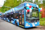 По России начинают колесить троллейбусы «Адмирал» с Wi-Fi, мультимедийными экранами и подзарядкой телефонов