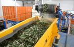 Открытие цеха по переработки стекла
