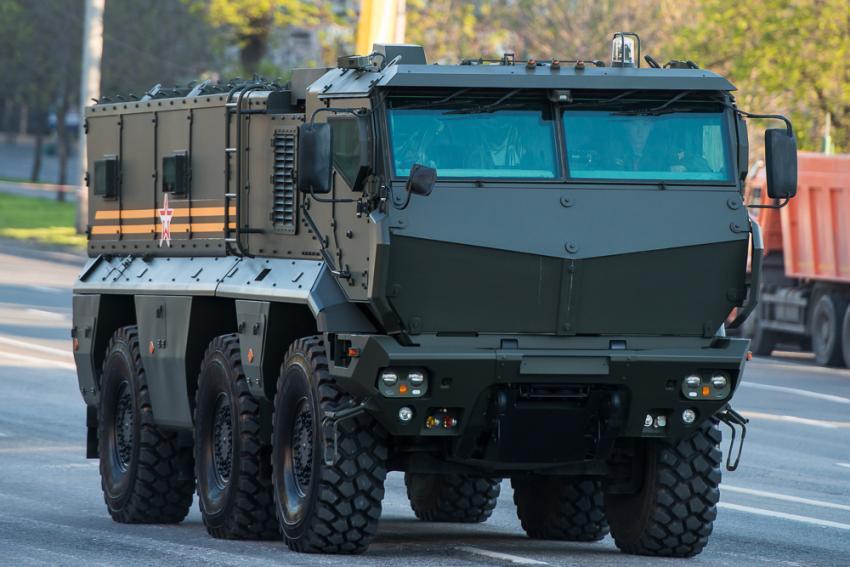 Камаз постарался: у нового русского броневика для спецназа даже колеса нельзя взорвать