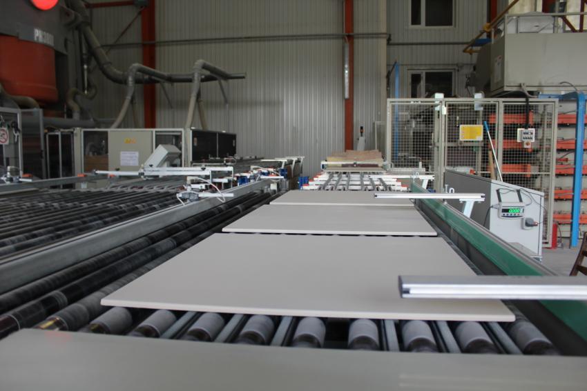 Закончено расширение производства керамогранитной продукции