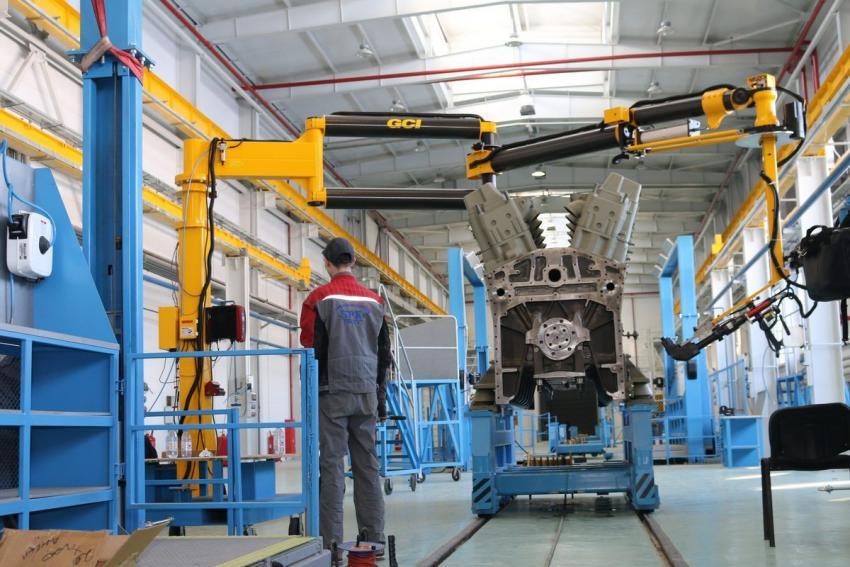 В Забайкальском крае введен в строй завод по сборке фронтальных погрузчиков