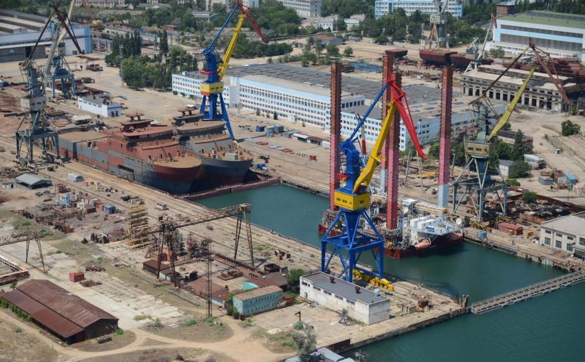 Судостроительный завод «Залив»: предприятие активно возрождается и уже обеспечено заказами на 3 года вперед