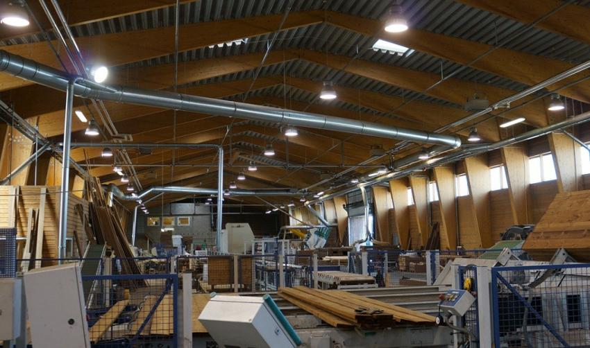 Новое производство древесно-полимерных композитных изделий запущено в Ульяновской области