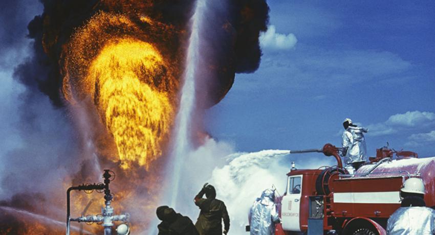 Аварийно-спасательные работы на объектах нефтяной промышленности
