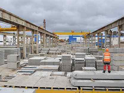В Самарском регионе введен в эксплуатацию новый завод железобетонных изделий