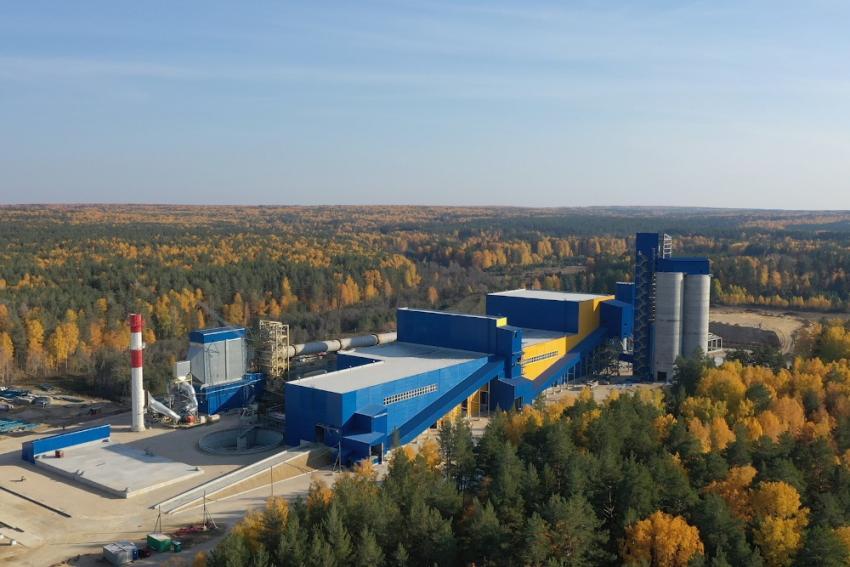 Свердловская область обрела новый цементный завод